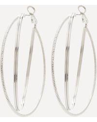 Bebe - Triple Hoop Earrings - Lyst