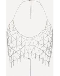Bebe - Bra Chain Necklace - Lyst