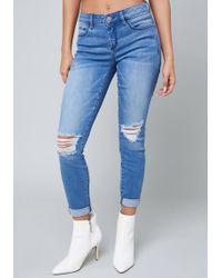Bebe - Spring Heartbreaker Jeans - Lyst
