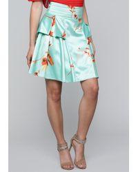 Bebe - Double Tiered Full Skirt - Lyst