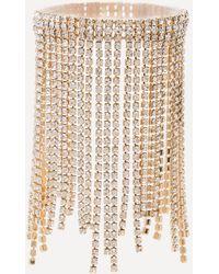 Bebe - Crystal Drape Bracelet - Lyst
