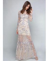 Bebe - Rachel Embellished Gown - Lyst