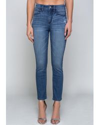 Bebe - Back Stack Waist Jeans - Lyst