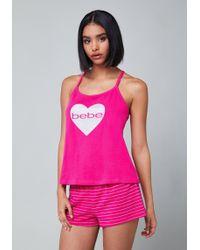 Bebe - Love Pyjama Set - Lyst