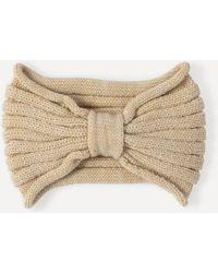 Bebe - Knotted Knit Headband - Lyst