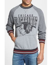 Mitchell & Ness 'Broad Street Nhl - Chicago Blackhawks' Crewneck Sweatshirt - Lyst