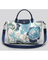 Longchamp Tote Fleurs De Ravello Medium - Lyst