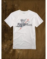 Ralph Lauren Flying-Panther Graphic Tee - Lyst