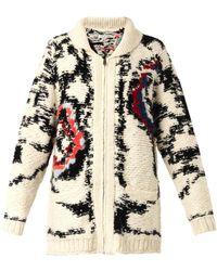 Etoile Isabel Marant Serra Knitted Jacket - Lyst