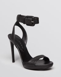 Burberry Sandals Alderney Ankle Strap High Heel - Lyst