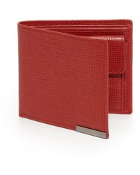 Tod's | Textured Leather Billfold Wallet | Lyst