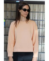 Beklina - Live-in Sweatshirt Peach - Lyst