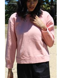 Beklina - Live-in Sweatshirt 80's Blush - Lyst