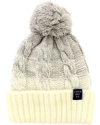 Superdry | Clarrie Cable Beanie | Lyst