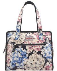 Cath Kidston | Large Pandora Bag- Rhododendron Graphite Grey | Lyst
