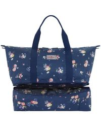 Cath Kidston - Foldaway Double Decker Travel Bag - Lyst