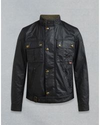 Belstaff - Gangster Waxed Jacket - Lyst