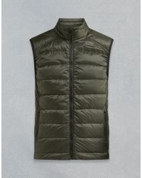 Belstaff - Rodings Quilted Vest - Lyst