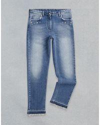 Belstaff - Venmore Studded Jeans - Lyst