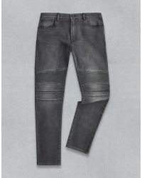 Belstaff - Eastham Tapered Fit Trousers - Lyst