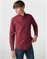 Ben Sherman - Long Sleeve House Gingham Shirt - Lyst