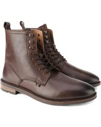Ben Sherman - Earl Leather Lace Boot - Lyst