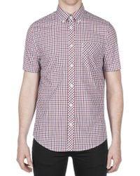 Ben Sherman - Short Sleeve House Check Shirt - Lyst