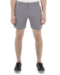 Ben Sherman - Multi Coloured Gingham Shorts - Lyst