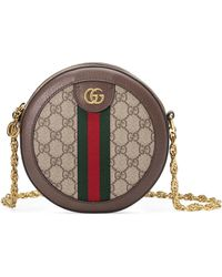 Gucci - Ophidia Mini GG Round Shoulder Bag - Lyst