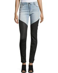 Brockenbow Artemis Cavalier Skinny Emma Jeans - Blue