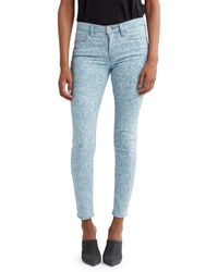 Hudson Jeans Nico Mid-rise Super Skinny Ankle Jeans