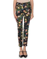 Erdem - Sidney Floral Meadow Pants - Lyst