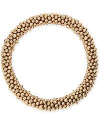 Meredith Frederick | Irina 14k Gold Mirrored Bead Bracelet | Lyst