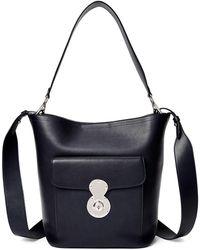 2e5fcb9708 Ralph Lauren Mini Modern Tote Bag in Pink - Lyst