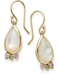 Ippolita - Prisma Teardrop Cabochon Earrings In Mother-of-pearl - Lyst
