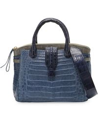 Nancy Gonzalez - Cristina Medium Crocodile Tote Bag - Lyst