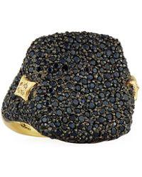 Armenta - Old World Black Sapphire Signet Ring - Lyst