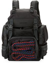 DSquared² - Akira Men's Backpack W/ Cording Detail - Lyst