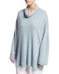 Eskandar - Knit Cowl-neck Monk's Top - Lyst