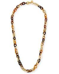 Ashley Pittman Karamu Chunky Collar Necklace wDMCJR