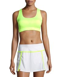 Monreal London - Essential Scoop-neck Performance Sports Bra - Lyst
