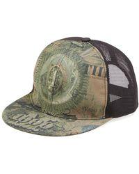 Givenchy - Dollar-print Flat-billed Hat - Lyst
