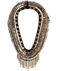 Mignonne Gavigan - Layne Beaded Statement Necklace - Lyst