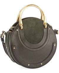 Chloé - Pixie Small Round Double-handle Tote Bag - Lyst