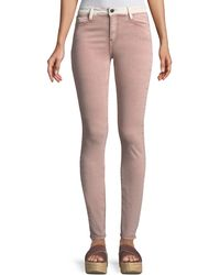 Brockenbow - Adone Emma Contrast-waistband Skinny Jeans - Lyst