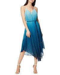 Ramy Brook - Viola Ombre Pleated Spaghetti-strap Dress - Lyst