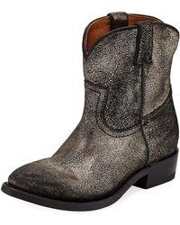Frye - Billy Short Cowboy Boots - Lyst
