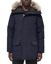 Canada Goose - Langford Arctic-tech Parka Jacket With Fur Hood - Lyst