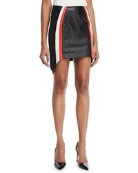 Thierry Mugler | Leather Mini Skirt | Lyst