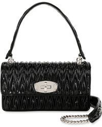 5752489170d28 Lyst - Vivienne Westwood Vernice 52020003 Small Evening Bag Black in ...